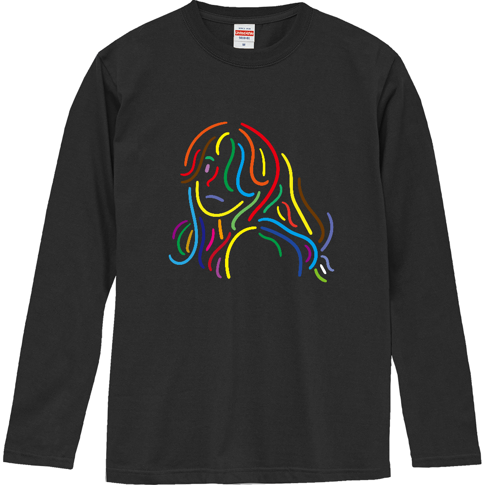カラフル ロングスリーブTシャツ