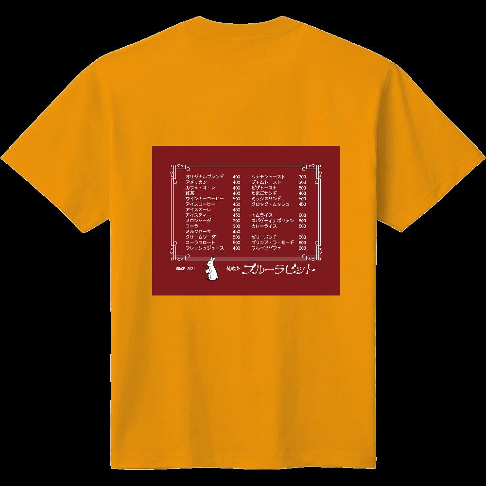 純喫茶ブルーラビット (店内メニュー表風/クリームソーダ) 定番Tシャツ 定番Tシャツ