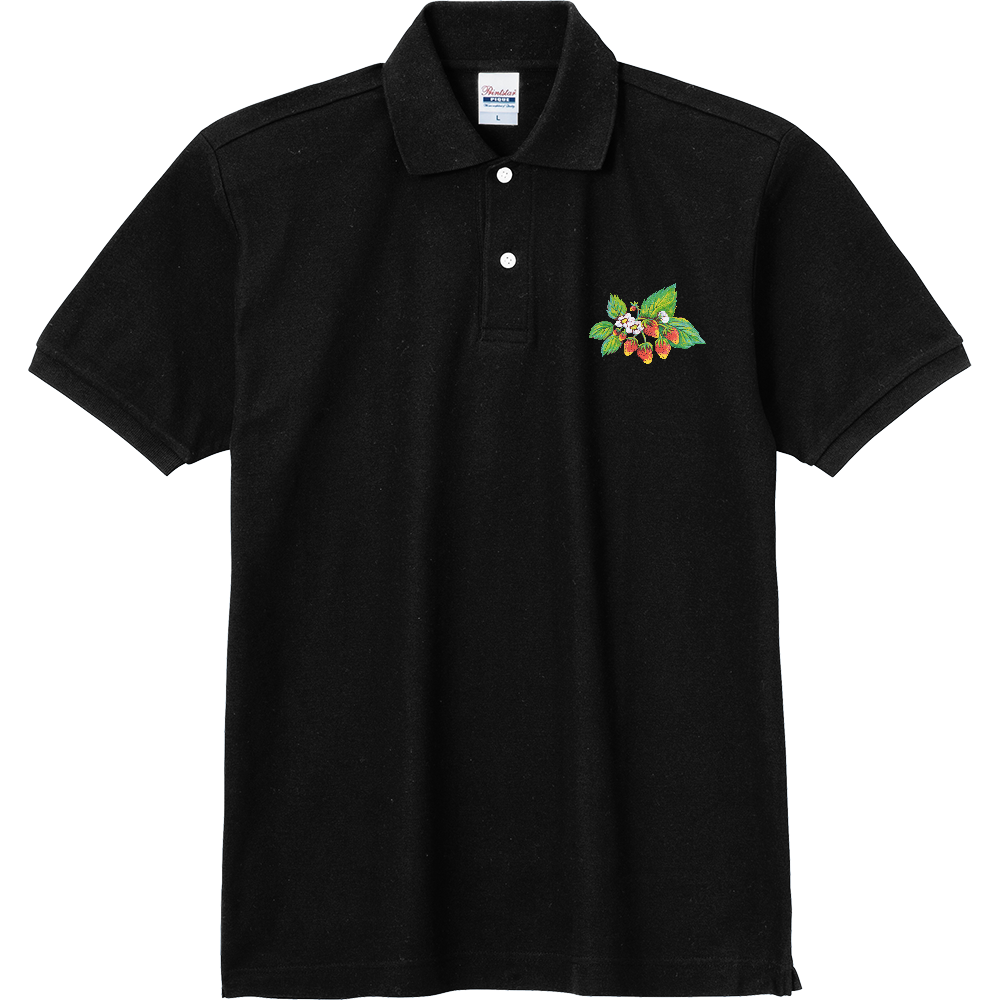 ストロベリー01 定番ポロシャツ