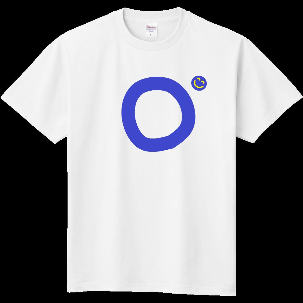 """イニシャル""""O""""&ほのぼの笑顔Tシャツ 定番Tシャツ"""