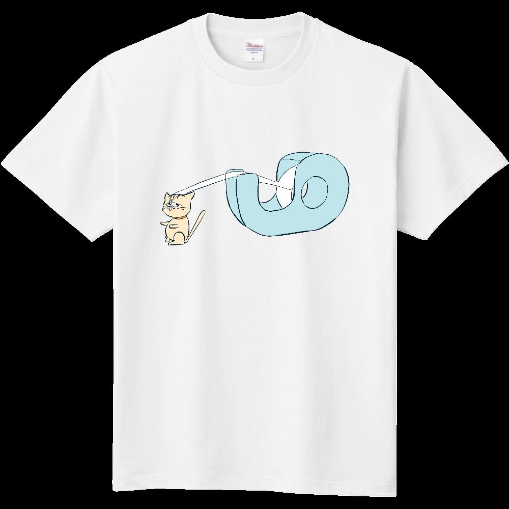 セロテープ×ネコ(こんどう) 定番Tシャツ