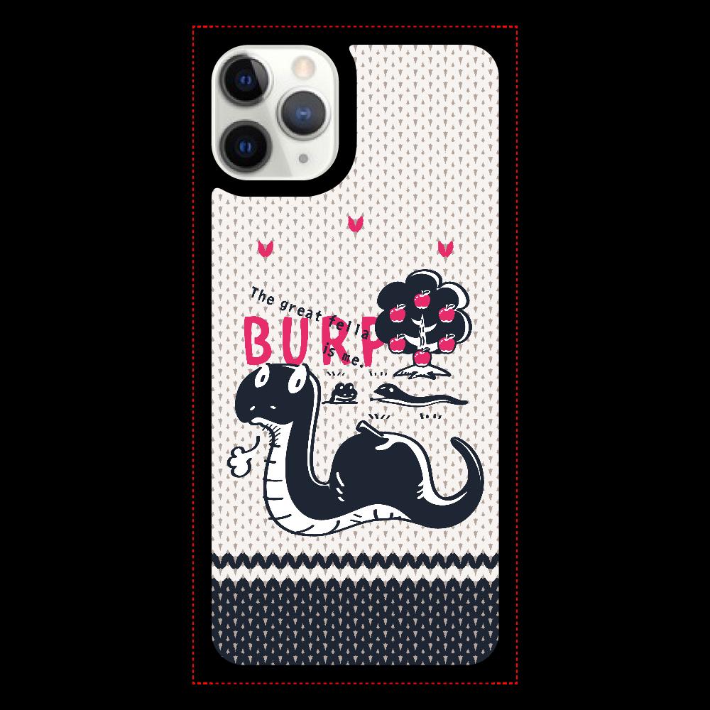 CT140 BURP iPhone11pro クリアパネルラバーケース