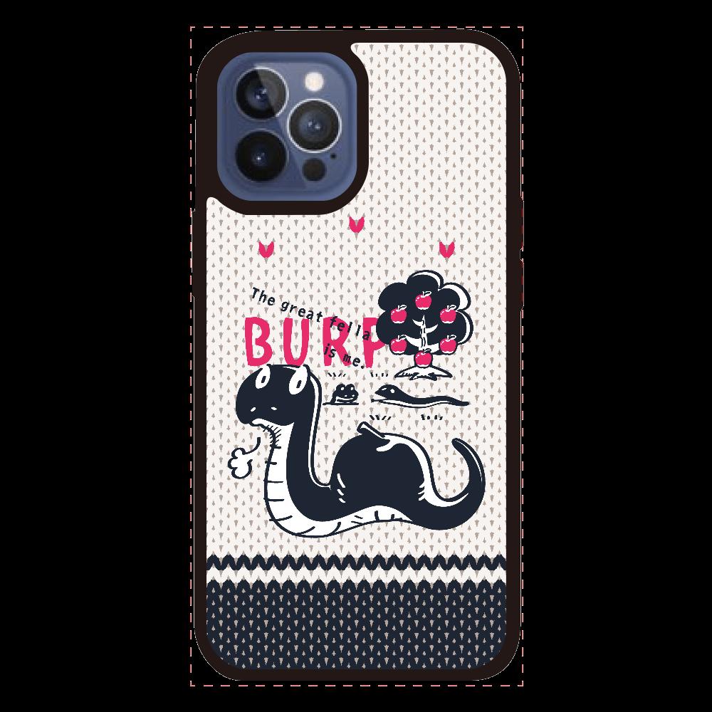 CT140 BURP iPhone12ProMAXクリアパネルラバーケース