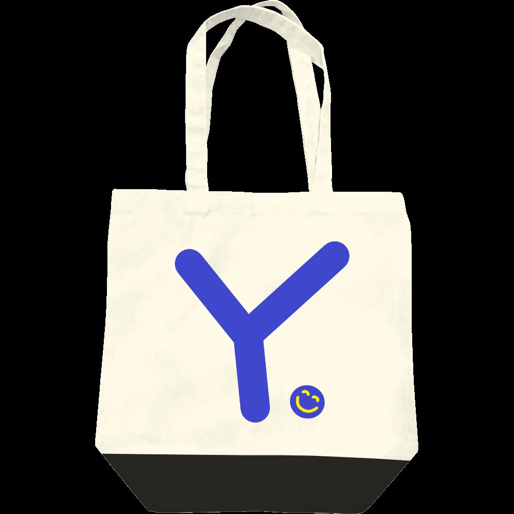 """イニシャル""""Y""""&ほのぼの笑顔トートバッグ レギュラーキャンバストートバッグ(M)"""