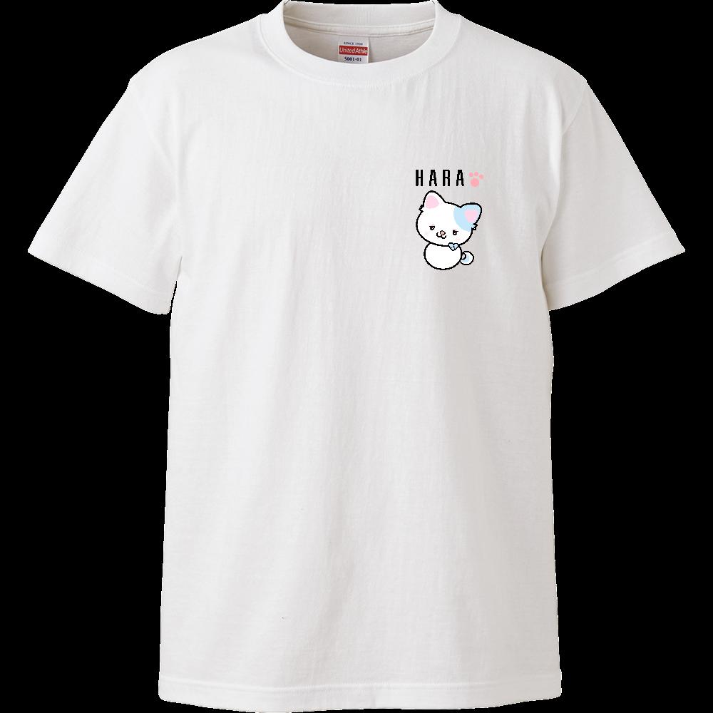 ハラにゃんTシャツ #オリラボコンテスト ハイクオリティーTシャツ
