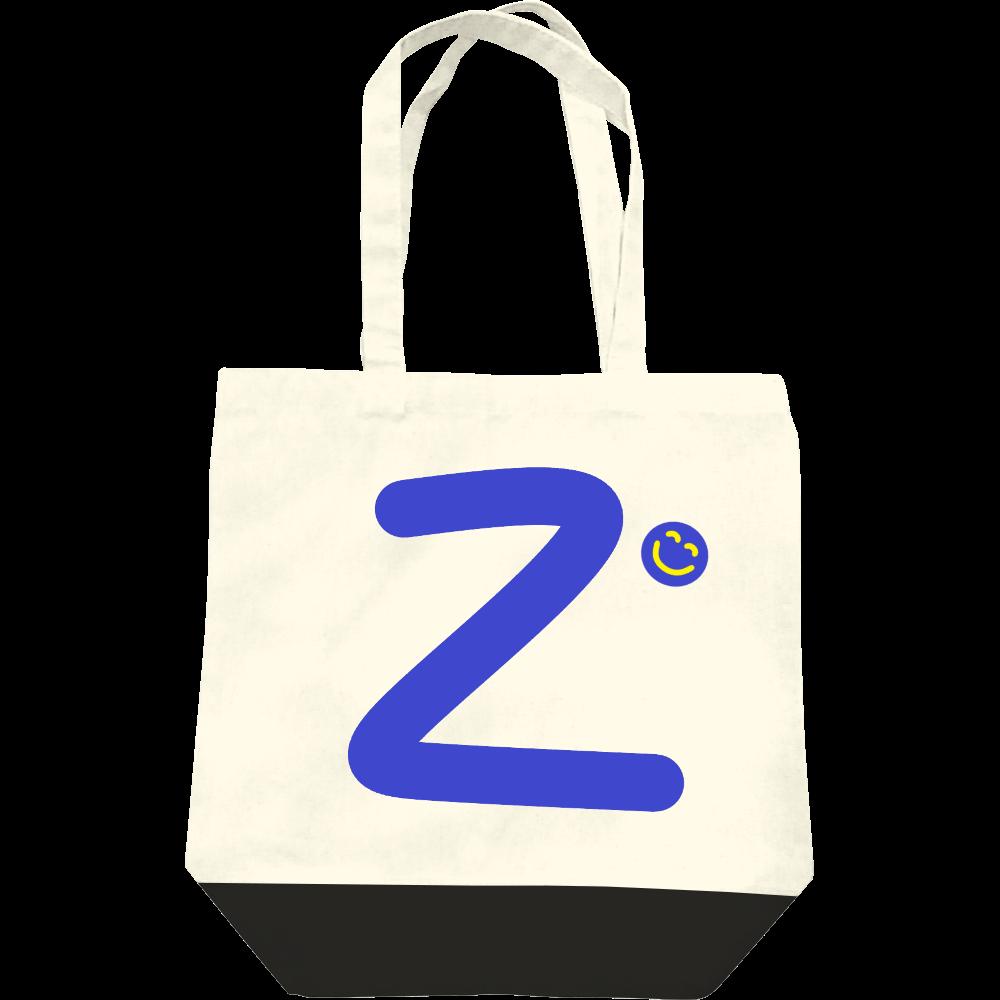 """イニシャル""""Z""""&ほのぼの笑顔トートバッグ レギュラーキャンバストートバッグ(M)"""
