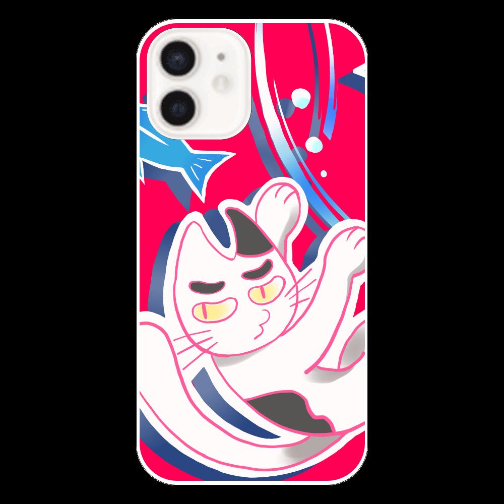 ヒョロー吾郎と宇宙(赤)iPhone11スマホケース iPhone12