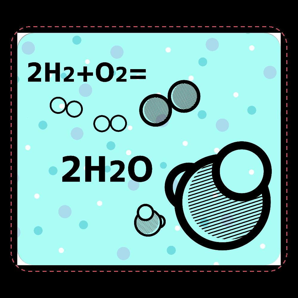 水分子 マウスパッド マウスパッド