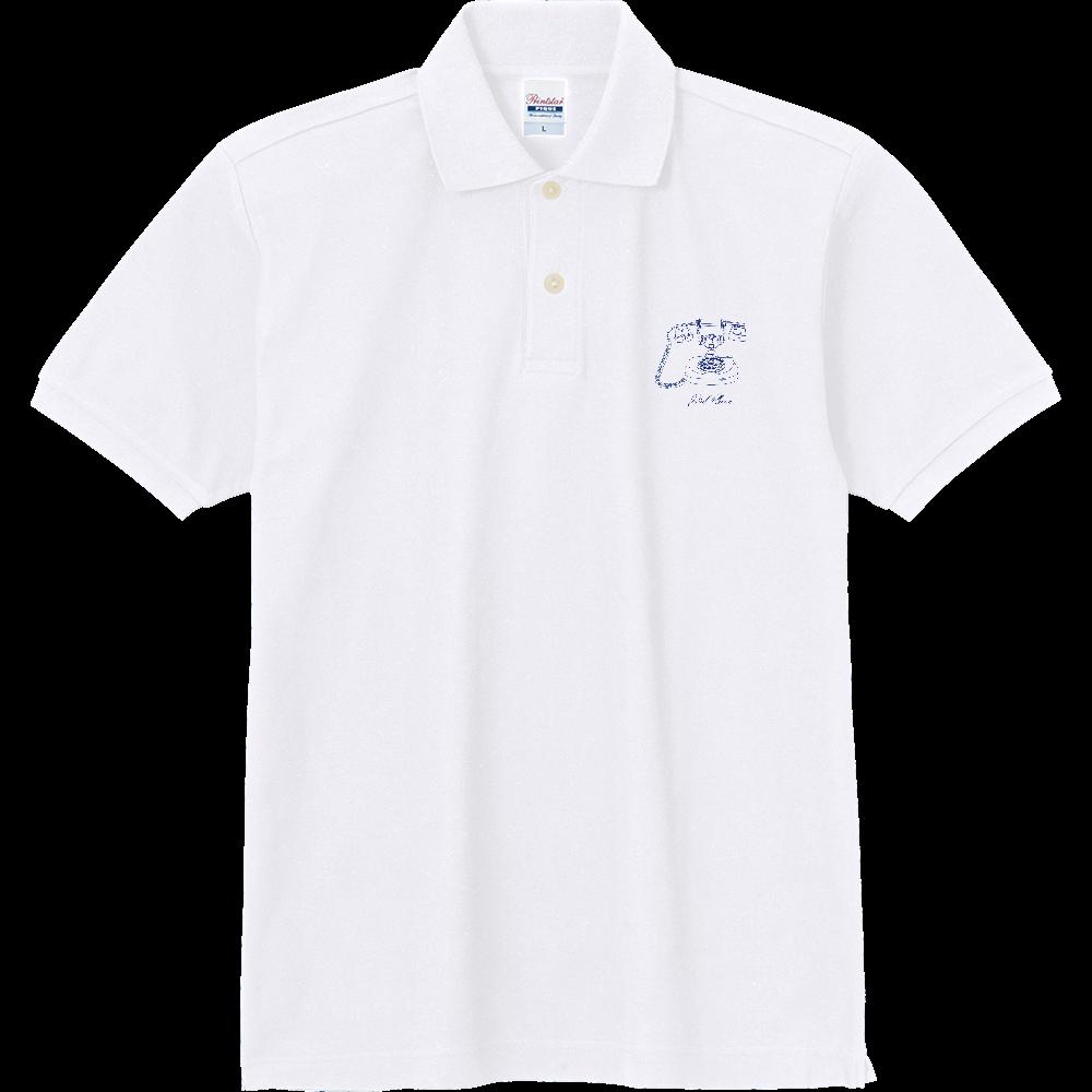 ダイアル式電話機 定番ポロシャツ