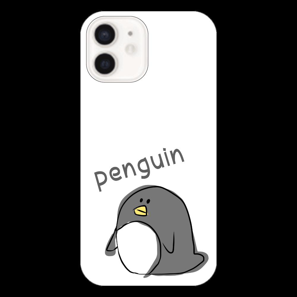 ぺんぎん iPhone12(透明)