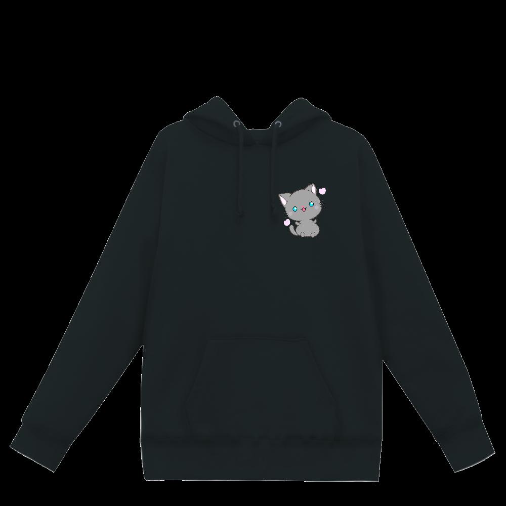 猫 ヘビーウェイトP/Oパーカー