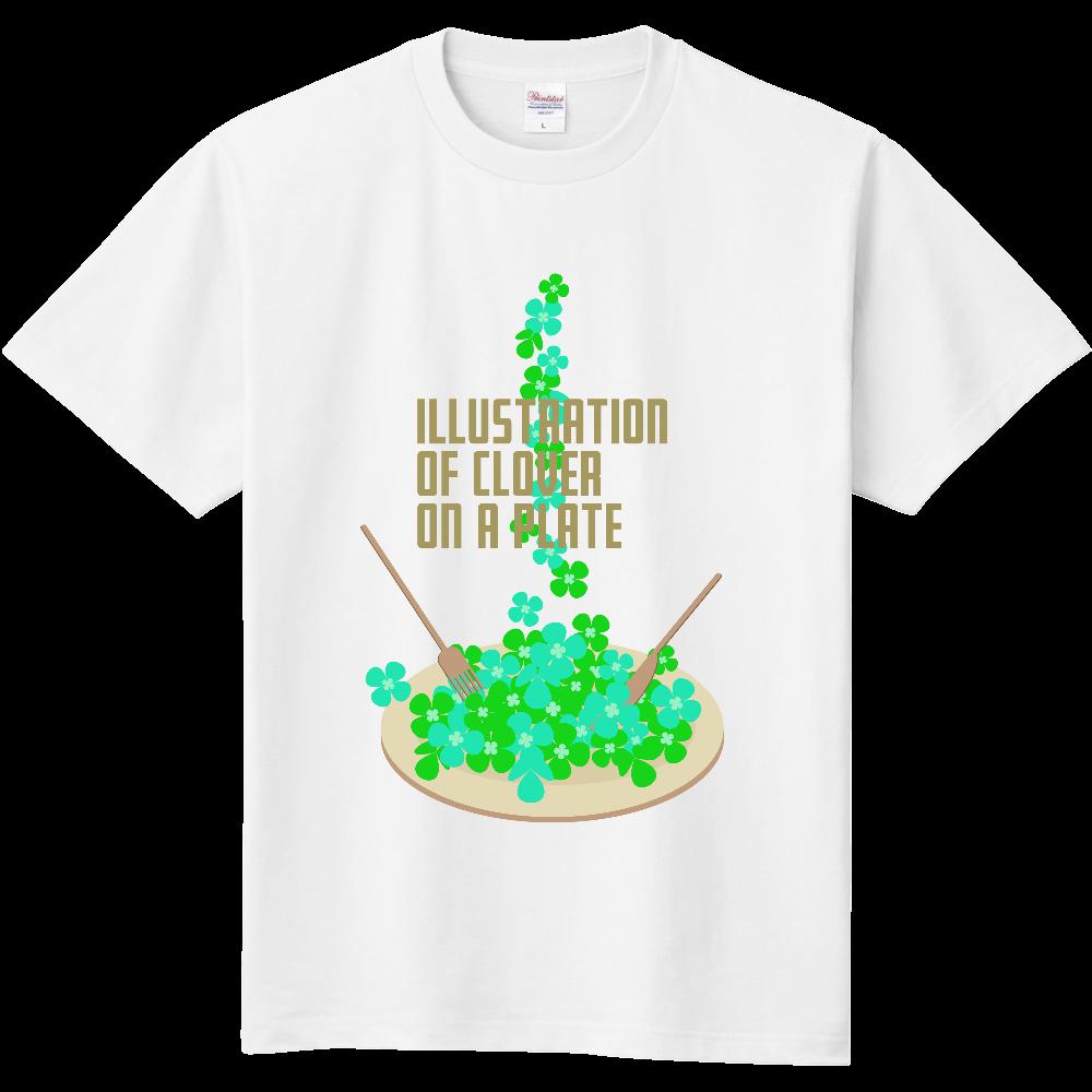 クローバーとお皿 定番Tシャツ
