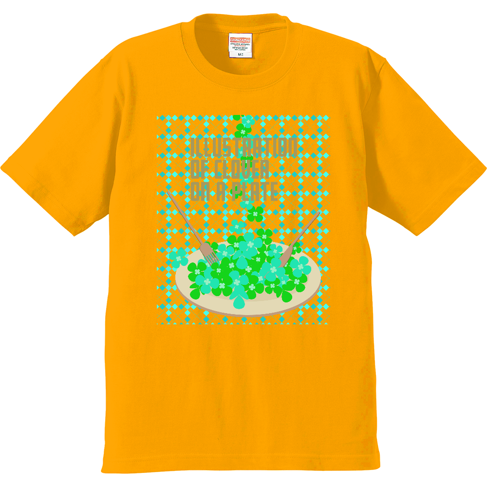 クローバーとお皿2 プレミアムTシャツ