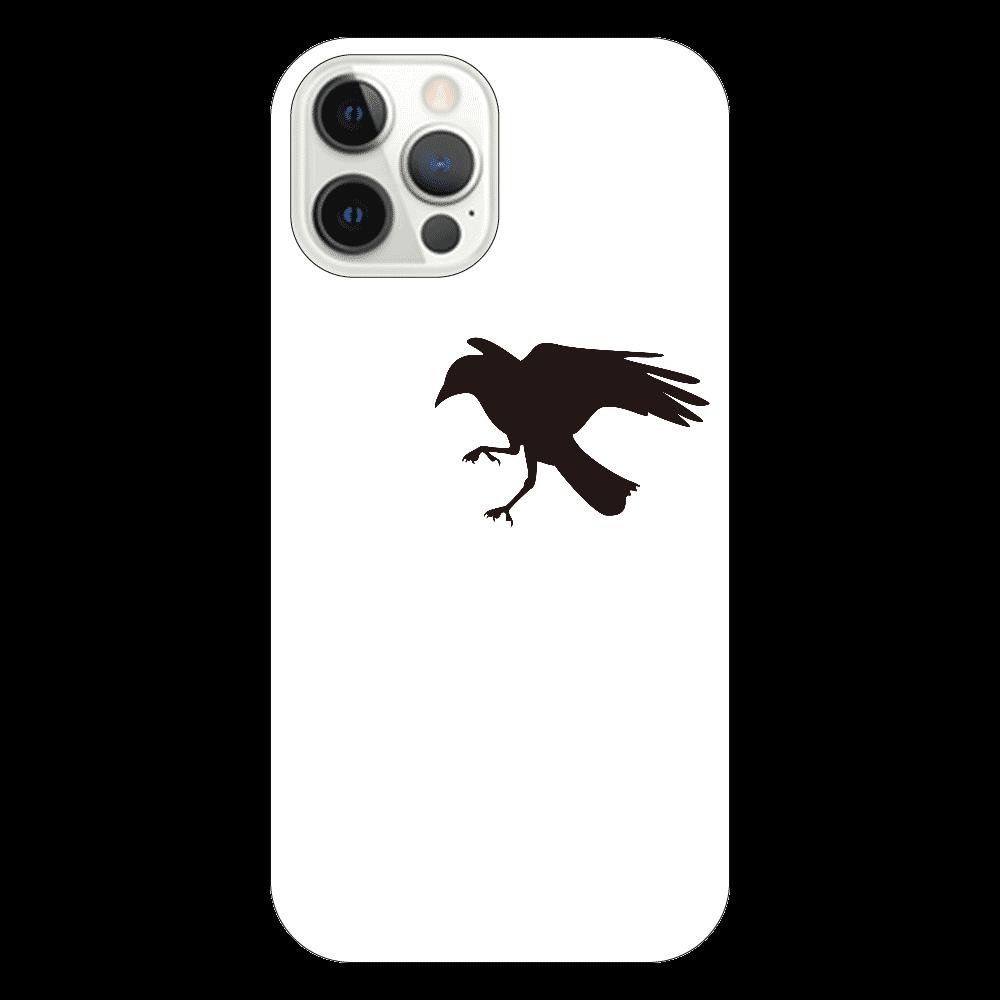 カラスの盗み iPhone12 Pro(透明)