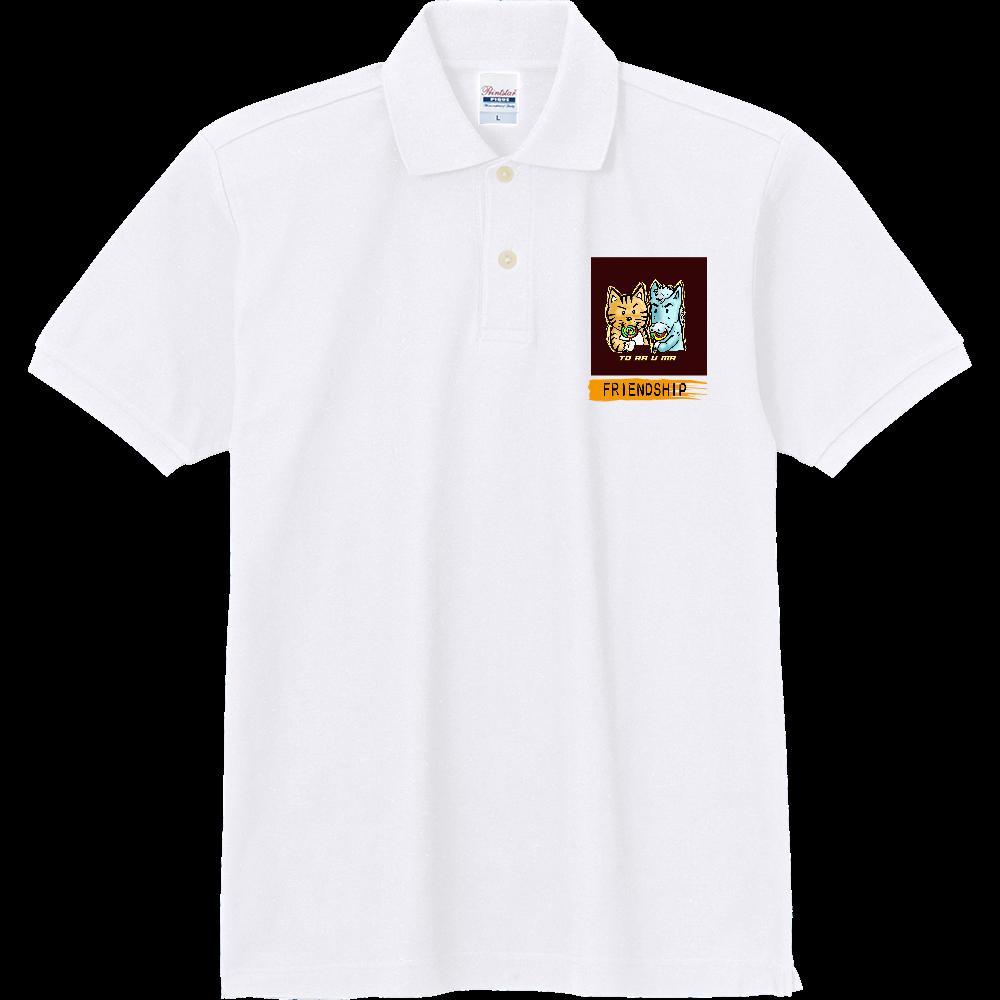 「とら★☆うま」くん トラウマ×とみざわコラボ チャリティー 定番ポロシャツ