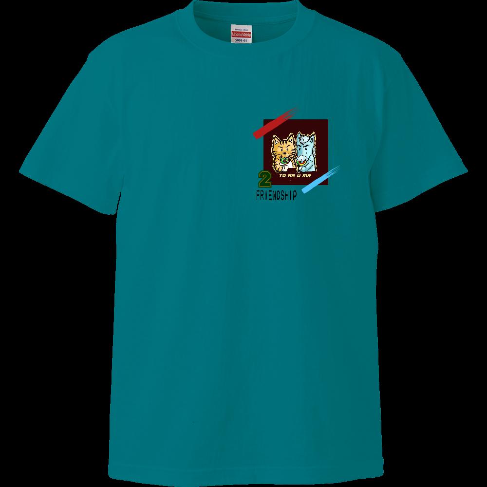 「とら★☆うま」くん トラウマ×とみざわコラボ チャリティー ハイクオリティーTシャツ