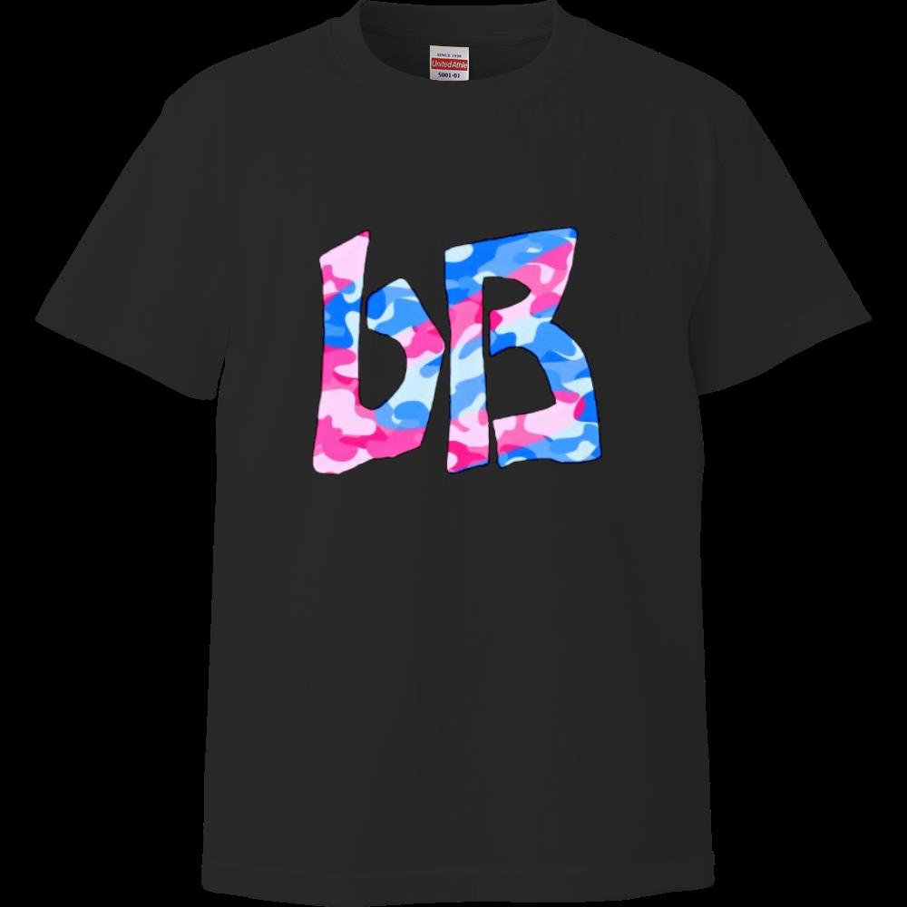 bB Tシャツ 迷彩ピンクブルー ハイクオリティーTシャツ