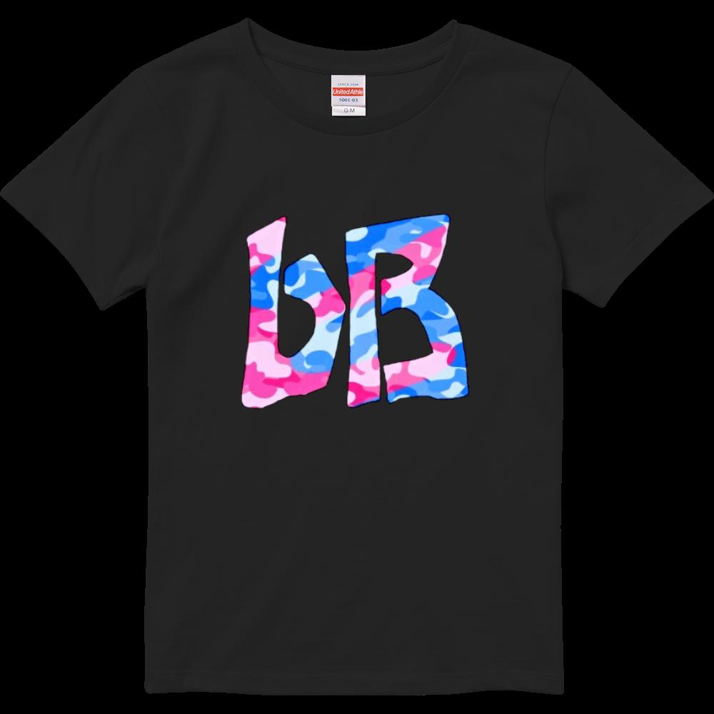 bB Tシャツ 迷彩ピンクブルー(ガールズ) ハイクオリティーTシャツ(ガールズ)