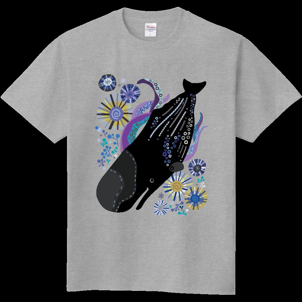 マッコウクジラの潜水 定番Tシャツ