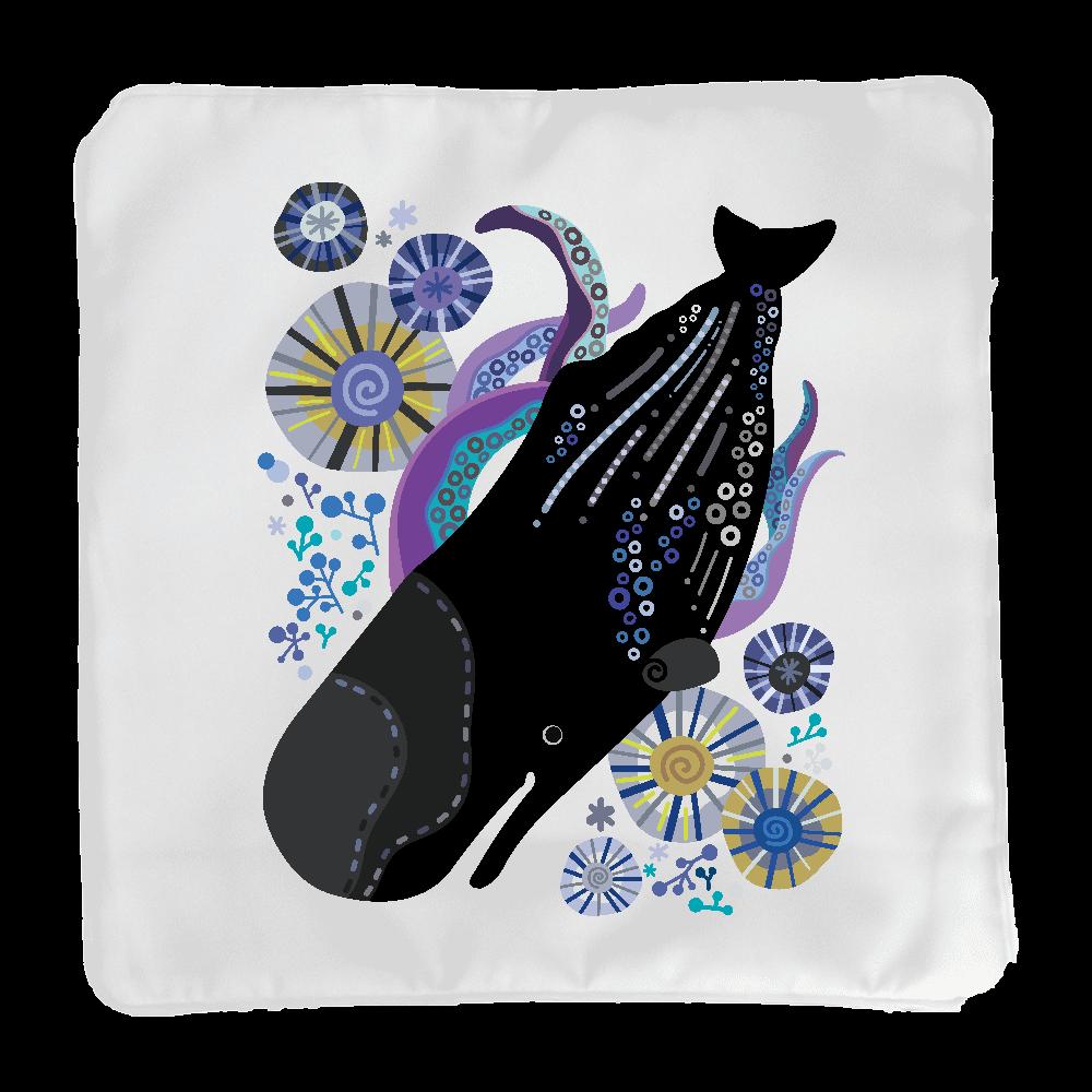 マッコウクジラの潜水 クッション(小)