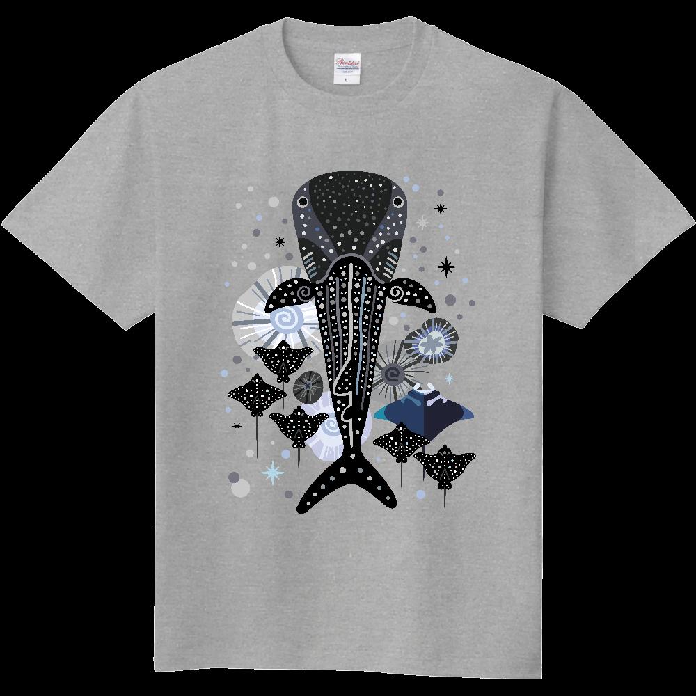ジンベエザメとマンタ 定番Tシャツ