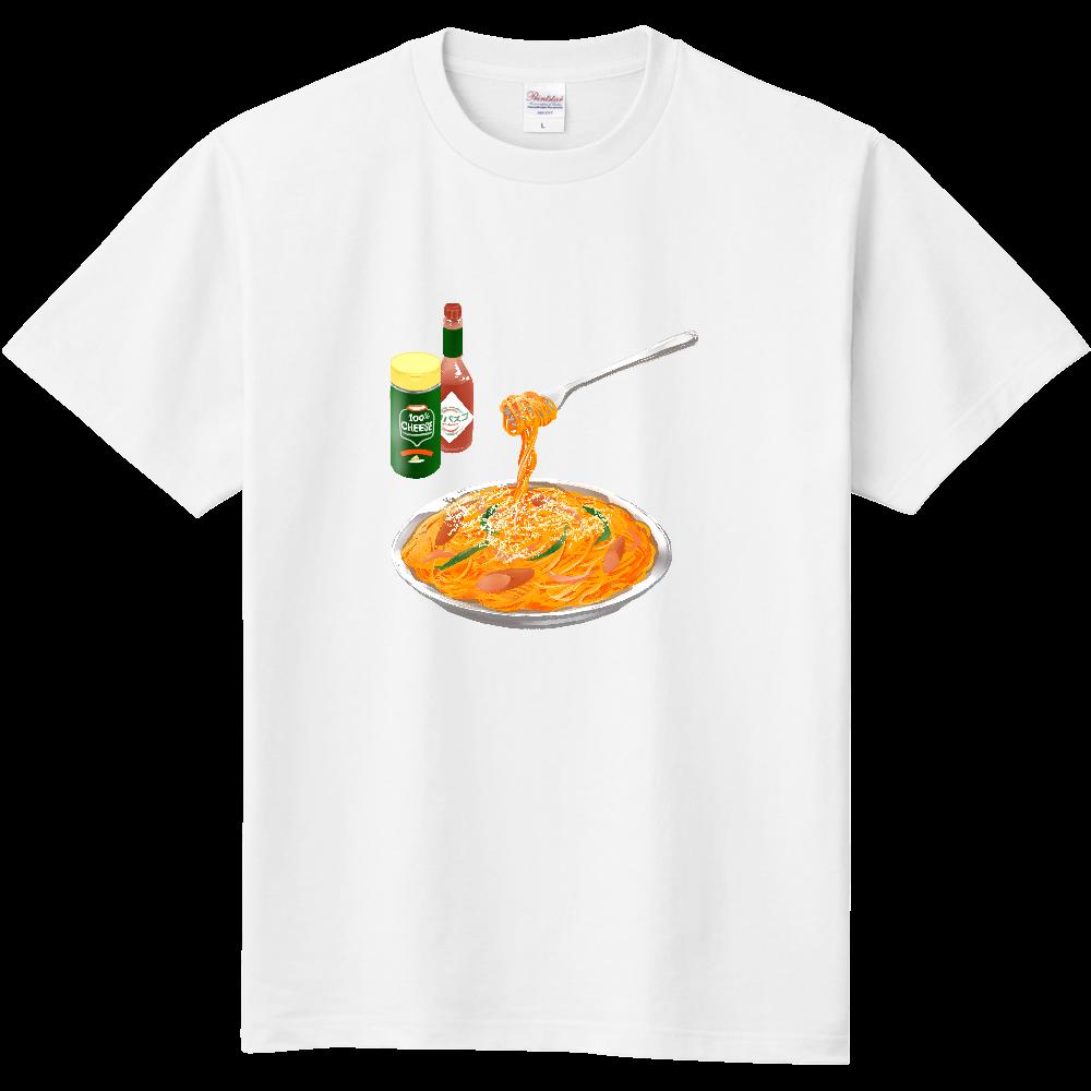 純喫茶ブルーラビット (ナポリタン) 袖ロゴ定番Tシャツ 定番Tシャツ