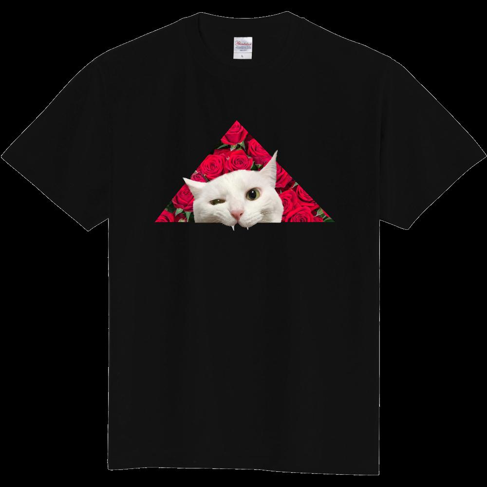 ▲ハク(薔薇) 定番Tシャツ