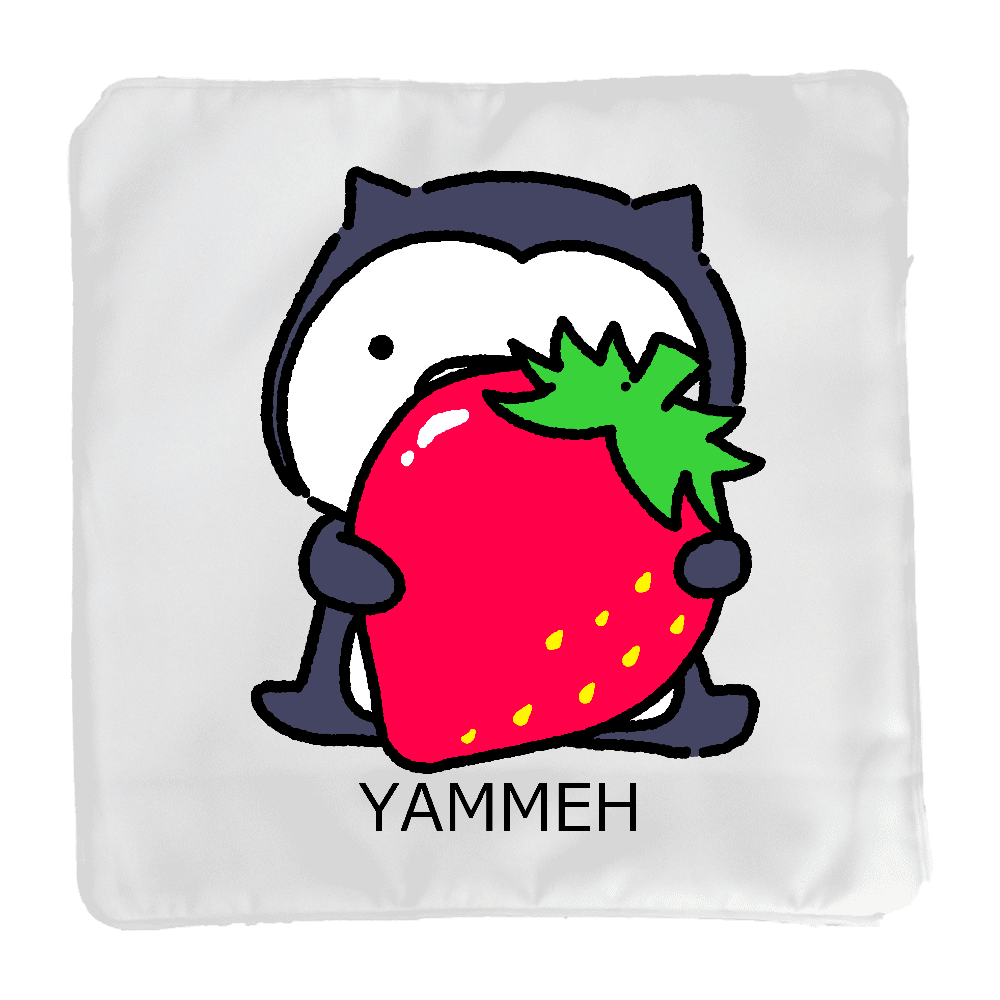 イチゴとムーネフ クッション(小)