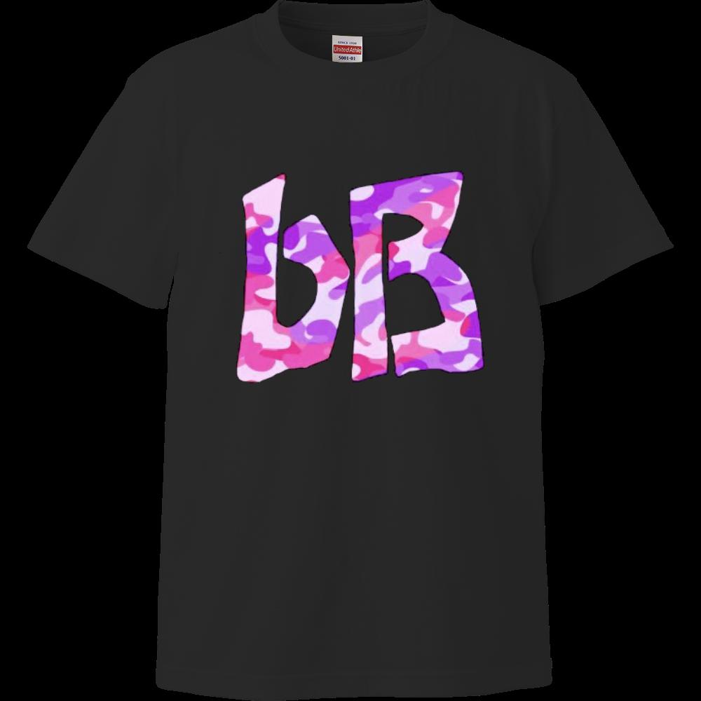 bB Tシャツ 迷彩ピンクパープル ハイクオリティーTシャツ