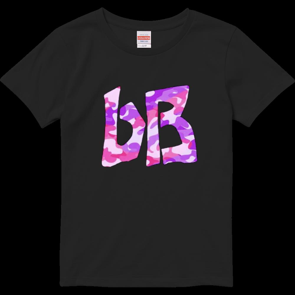 bB Tシャツ 迷彩ピンクパープル(ガールズ) ハイクオリティーTシャツ(ガールズ)