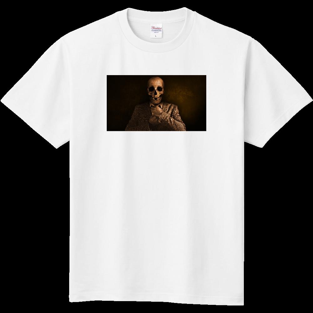おもしろTシャツ ネクタイを締めて、、いざ行かん! メンズ レディース 定番Tシャツ