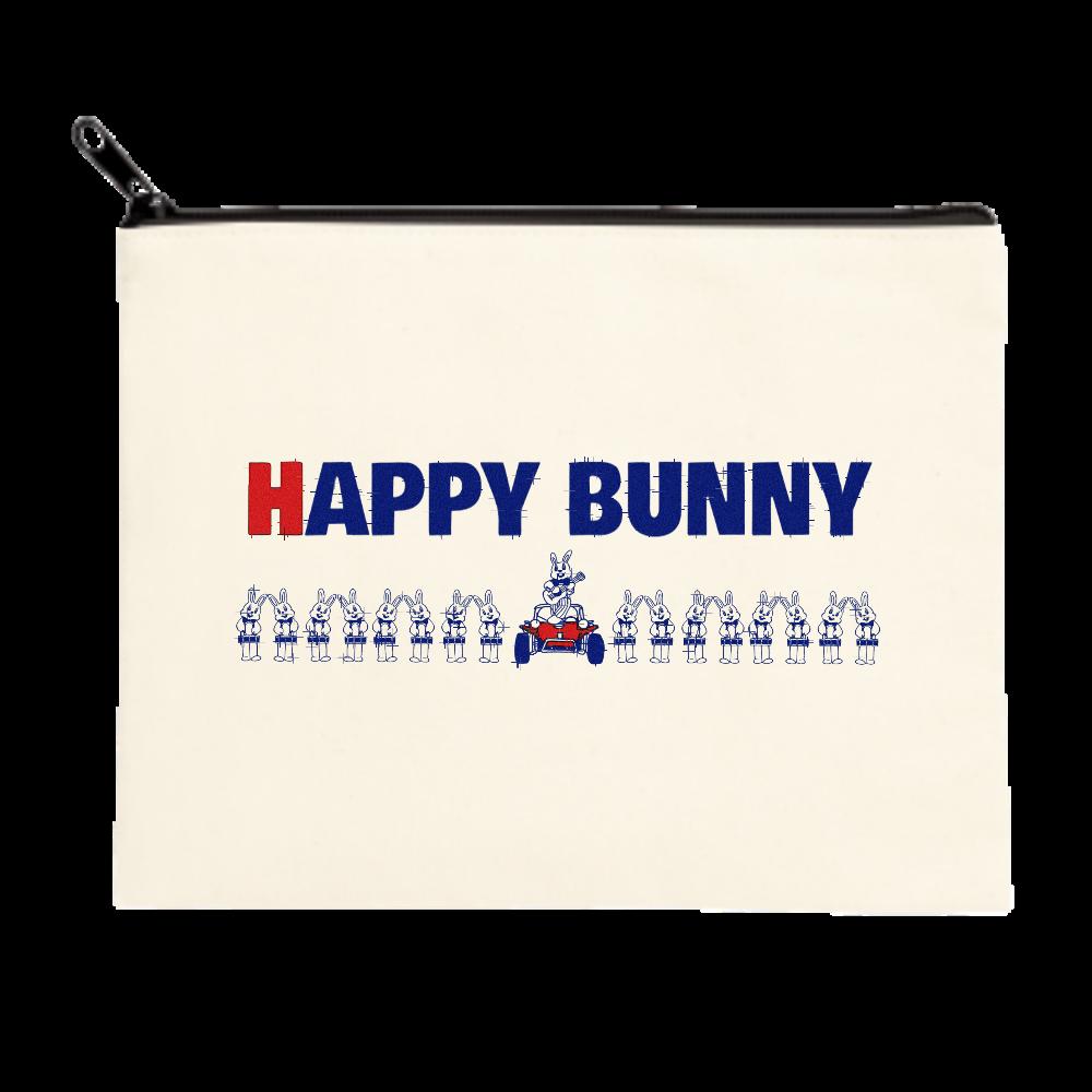 HAPPY BUNNY ポーチ(M)