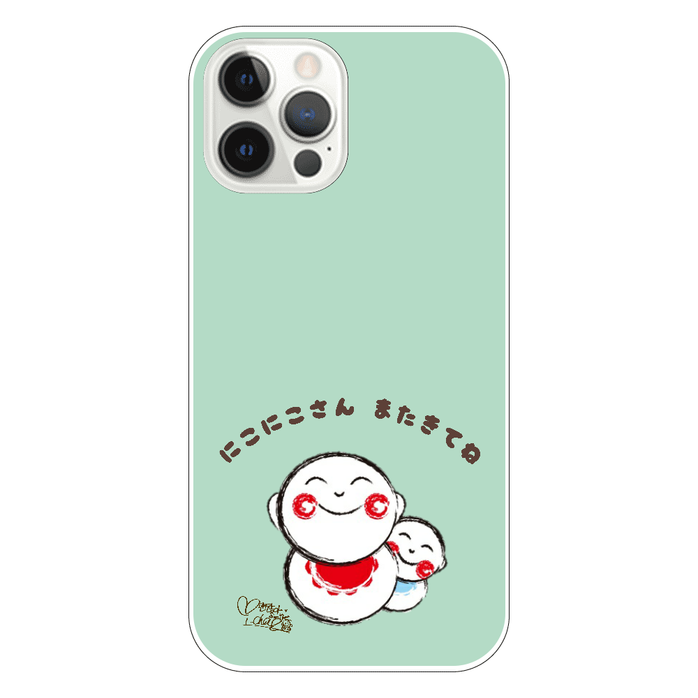 にこにこさん Aタイプ スマホケース iPhone iPhone12 Pro