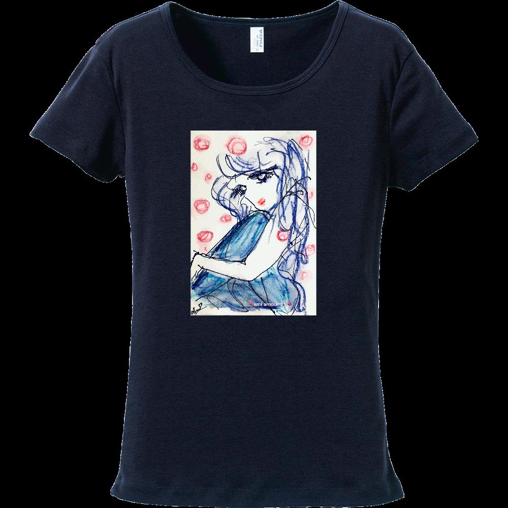 「ゆっくりね」 フライスTシャツ