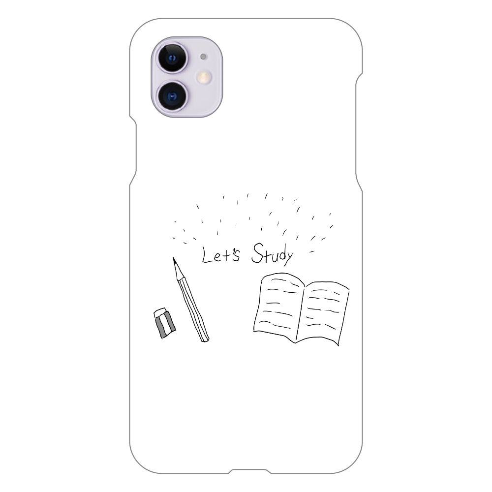 れっつすたでぃ iPhone 11(白)