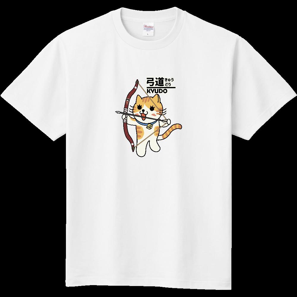 弓道にゃんこ 定番Tシャツ