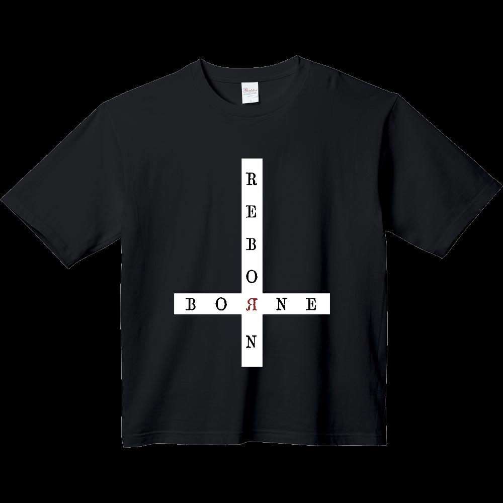 Inverted cross black ヘビーウェイト ビッグシルエットTシャツ