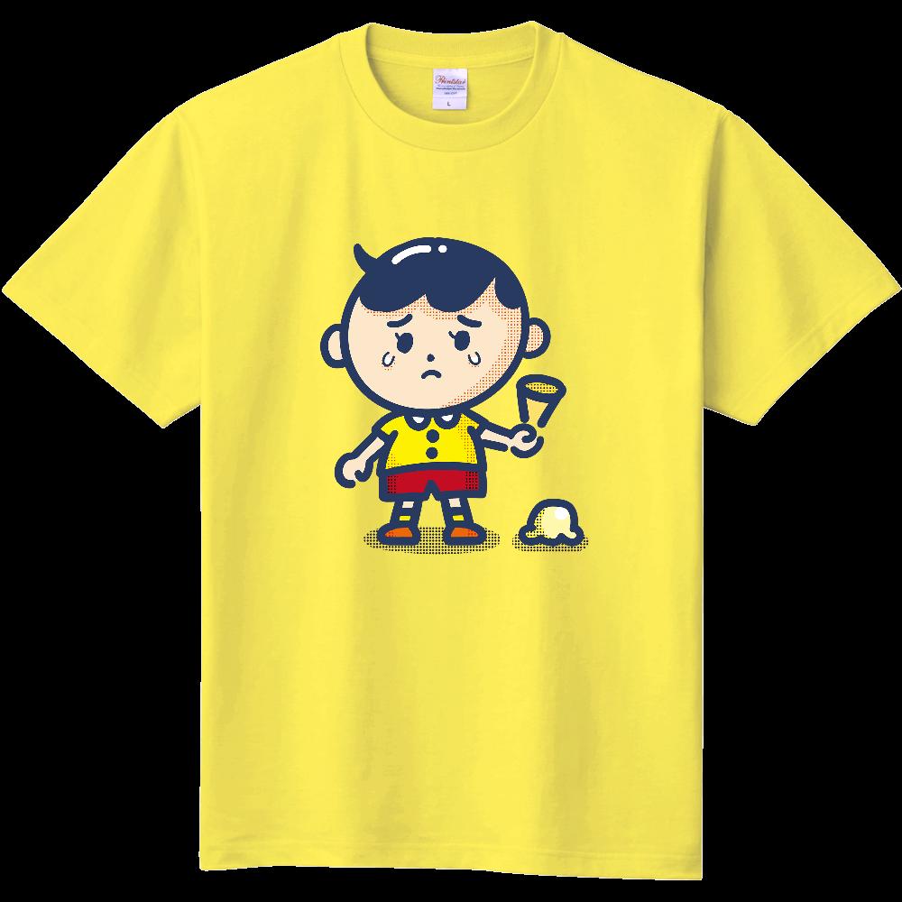 アイス落とした 定番Tシャツ