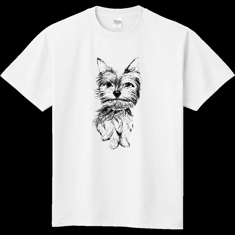 ヨークシャテリア02 定番Tシャツ