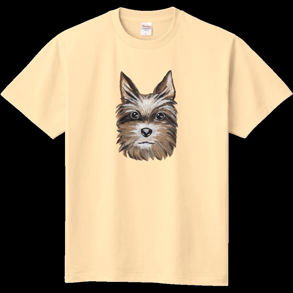 ヨークシャテリア01 定番Tシャツ