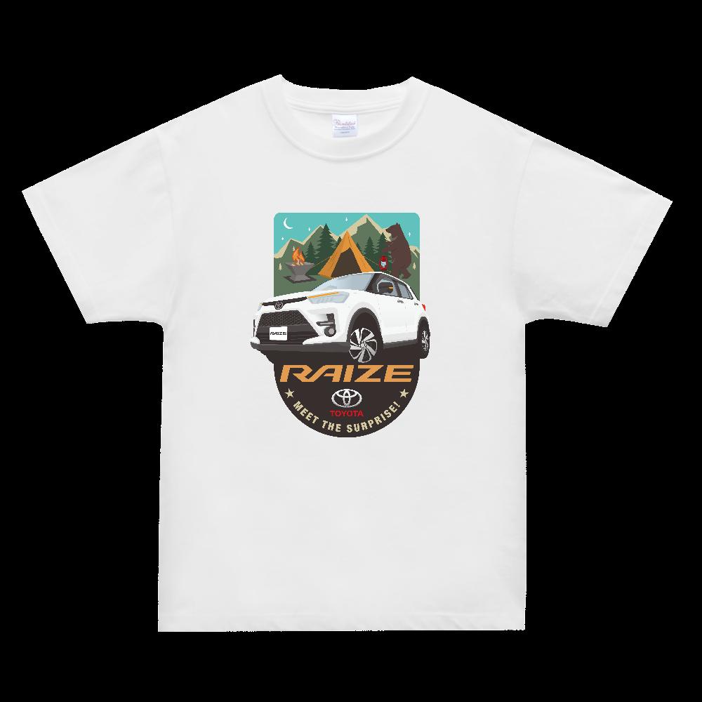 SUVキャンプイラスト オリジナルカスタム スーパーヘビーTシャツ XH3 T スーパーヘビーTシャツ