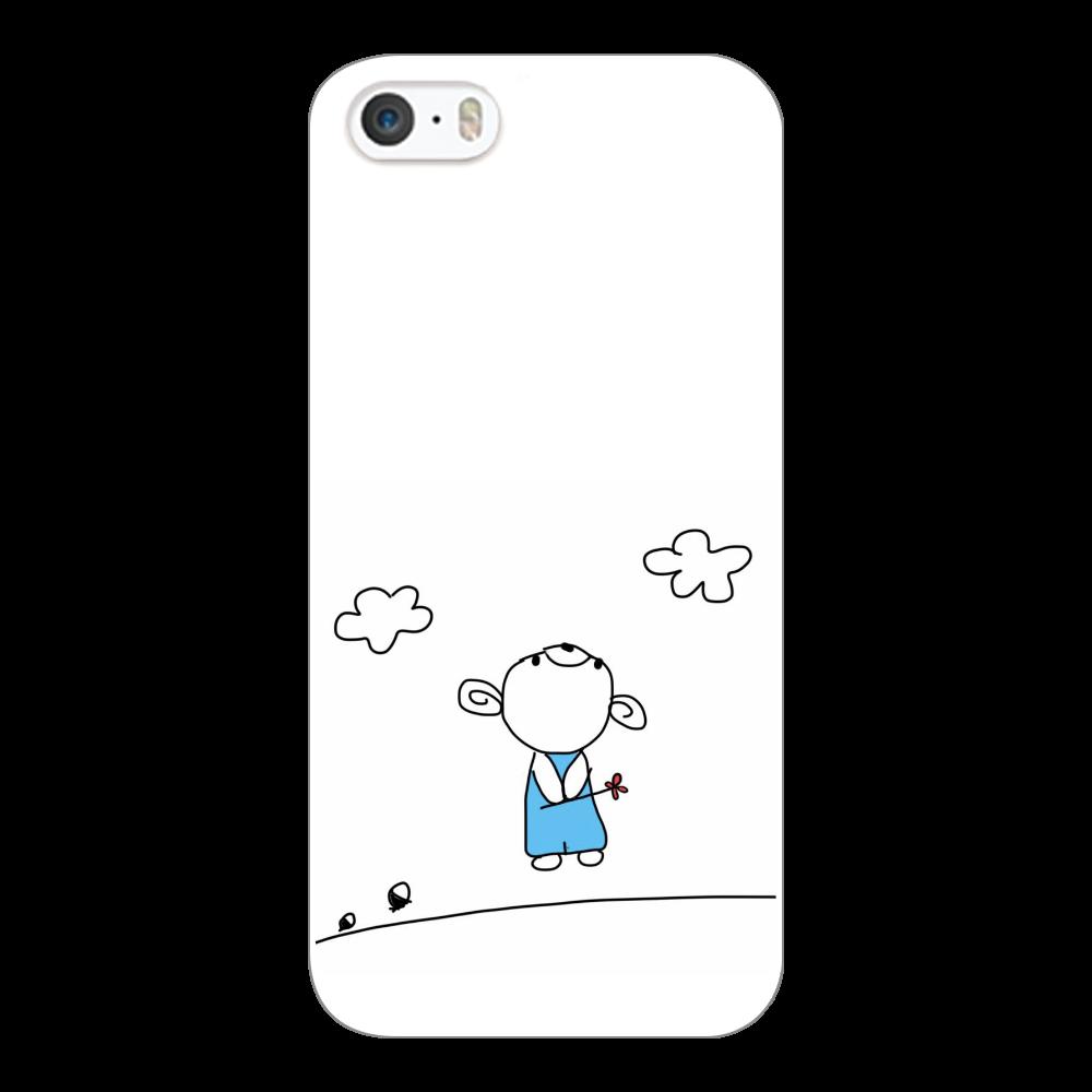 スマホケース こぐまのこぐー iPhone5/5s/SE(白)