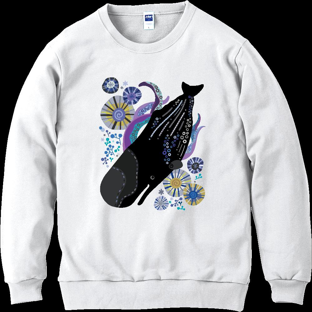 マッコウクジラの潜水 軽量スウェット