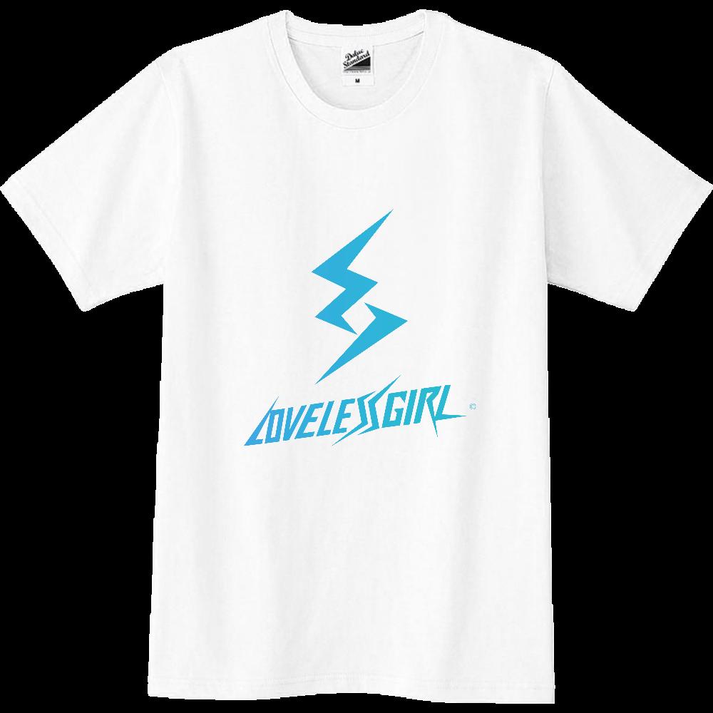 LoveLessGirl オリジナル ロゴ シャツ スリムTシャツ