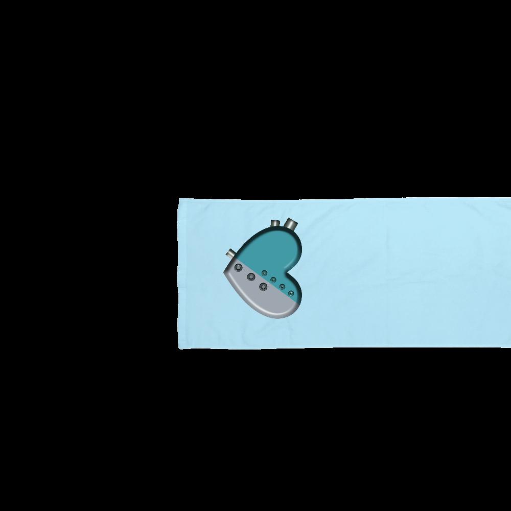 ハート 機械 タオル スポーツタオル