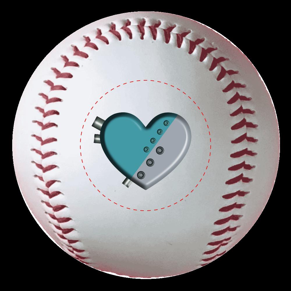 ハート 機械 野球ボール(硬式) 野球ボール(硬式)