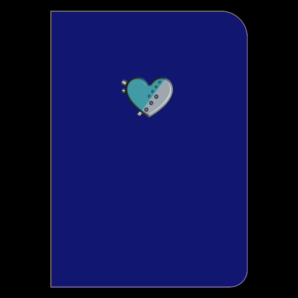 ハート 機械 ハードカバーポケットノート ハードカバーポケットノート