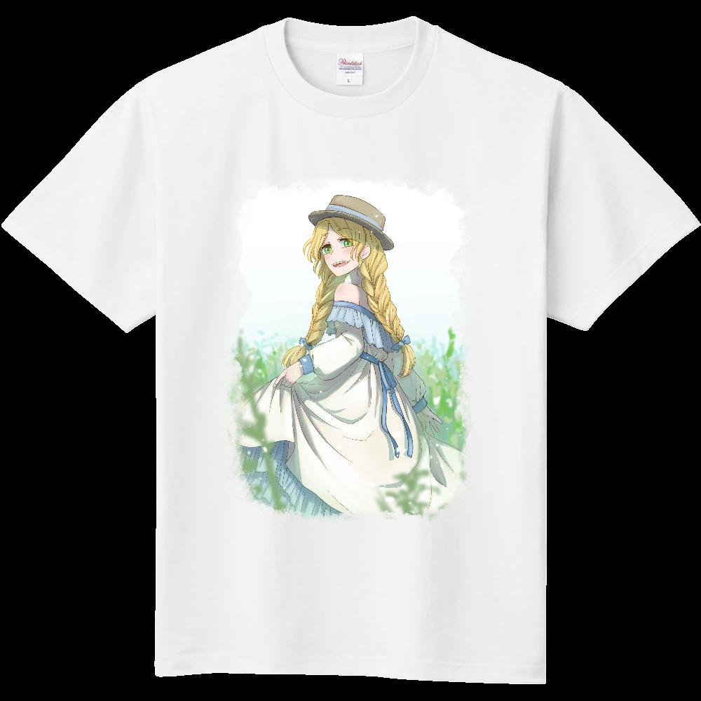 野原の少女 Tシャツ 定番Tシャツ