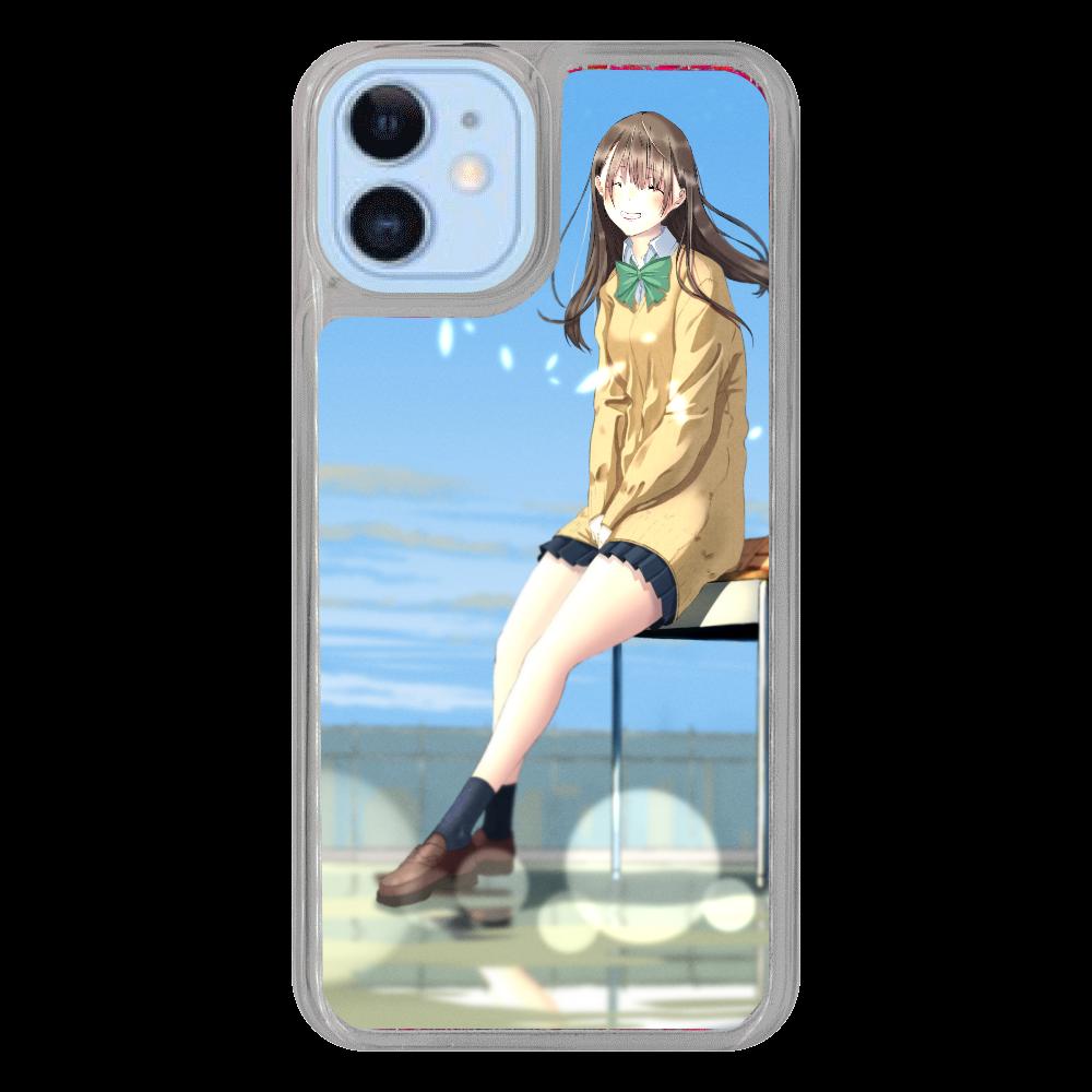 iPhone12/12 Pro_「君の笑顔」 iPhone12/12pro グリッターケース