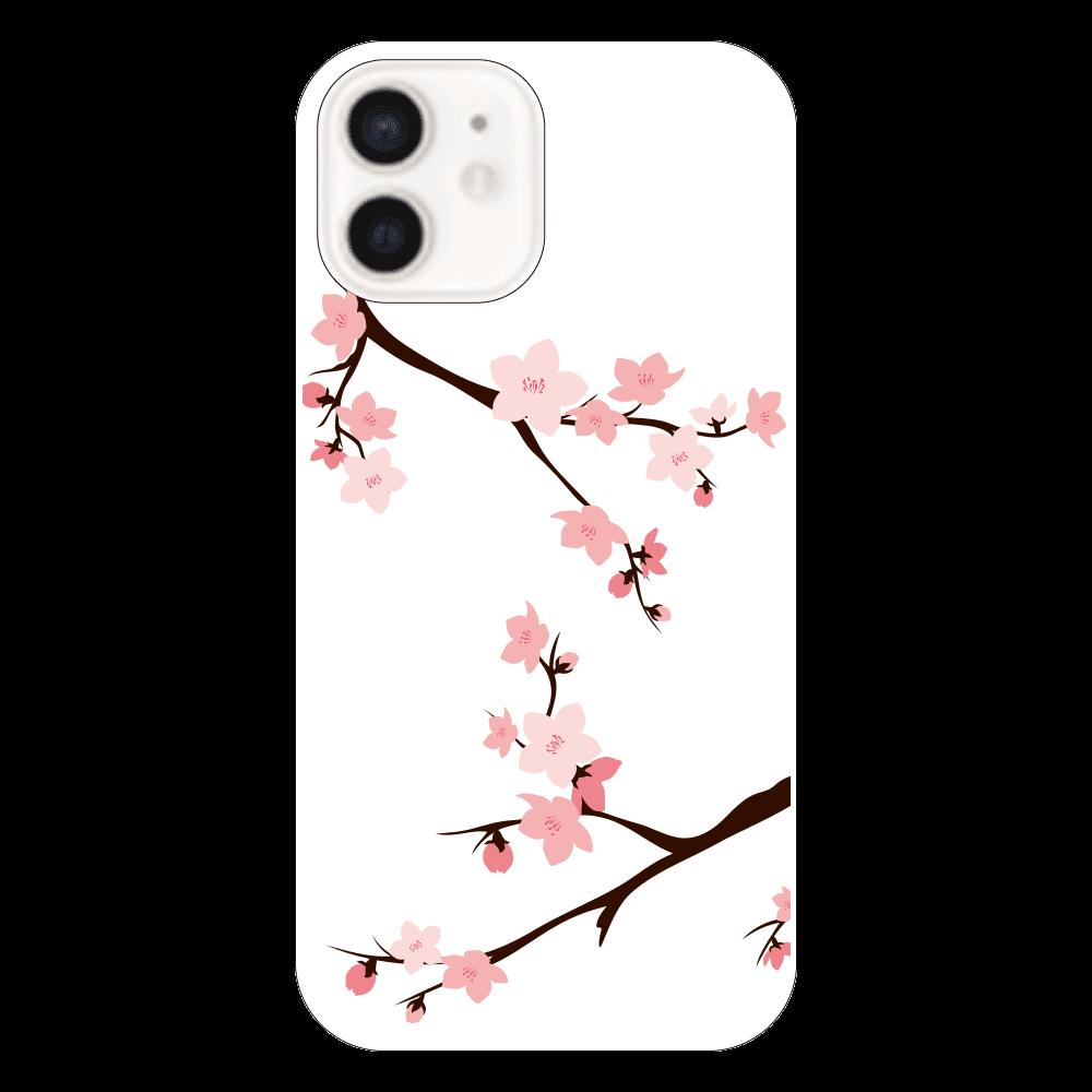 iPhone12 ケース 桜 iPhone12(透明)